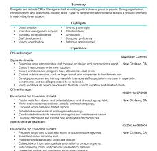 Sample Office Manager Resume by Ravishing Example Of Office Manager Resume Creative Resume Cv