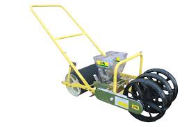 Walk Behind Seed Planter by Jp 2 Two Row Jang Seeder With 2 Rollers Walk Behind Push Hand
