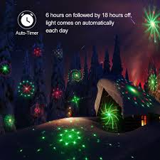 amazon com tec bean 24 patterns christmas landscape lights