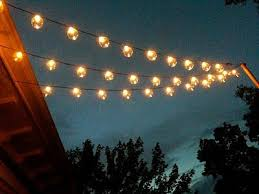 Patio Lights String Ideas I This Look Of Lights The Deck She Gives Directions On