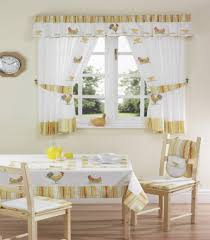 Creative Window Treatments by Kitchen Window Treatment Ideas With White Frame Window And