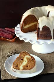 cream cheese pumpkin bundt cake chocolate with grace