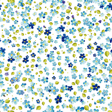 blue flower print images reverse search
