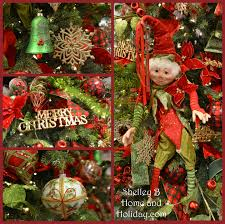 christmas decorations in red and green shop raz timeless