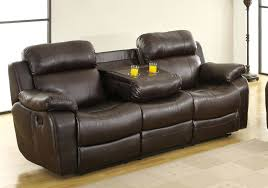 Brown Bonded Leather Sofa Leather Sofa 3 Piece Bonded Leather Sectional Reclining Nail