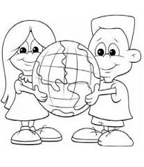 26 happy earth coloring pages images earth