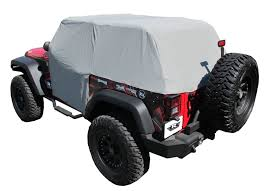 grey jeep wrangler 2 door amazon com rampage products 1163 gray waterproof cab cover for