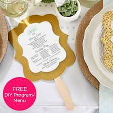 Hand Fan Wedding Programs Gold Glitter Hand Fan Personalization Available Set Of 12