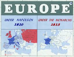 Map Of Central Europe by Regency Wrangles Maps Of Central Europe 1789 1815 The Effects