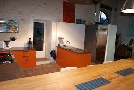 cuisine de loft cuisine de loft sur mesure photo 2 5 coin lavage et frigo