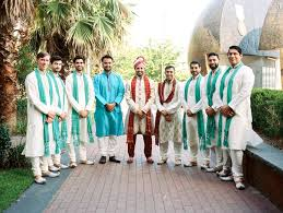 groomsmen attire indian groomsmen attire with a pop of color
