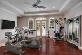 Home Gym Decorating Ideas Photos Interior Modern White Living Room Decoration Using Modern Dark