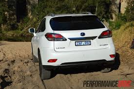 lexus used car sydney 2012 lexus rx 450h f sport review performancedrive