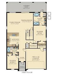 Master Suite Floor Plan Maui New Home Plan In Championsgate The Retreat Vacation Homes