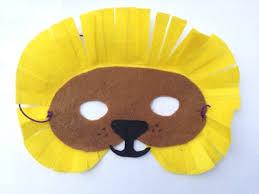 lion mask for kids no sew felt lion mask my kid craft