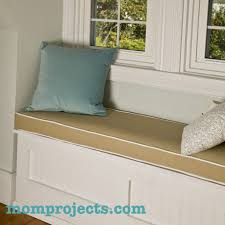 Build A Window Seat - how to make a window seat cushion with piping mom projects with