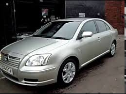 2006 06 toyota avensis 1 8 vvt i colour collection 5dr youtube