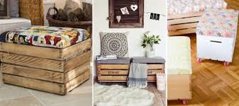 Wooden Crate Nightstand Diy Reusing Wooden Crates So Creative Things Creative Things