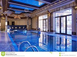 home indoor pool stock photo image 69517781
