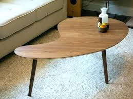 kidney bean shaped table kidney shaped table kidney shaped coffee table retro kidney shaped