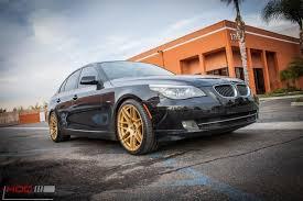 bmw e60 gold bmw e60 535i forgestar f14 alloy wheels tuning mattgold 7
