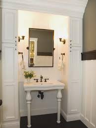 bathroom fresh small bathroom pedestal sink design decorating