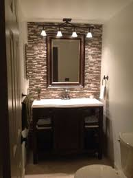 Bathroom Ideas For Small Bathrooms by Small Baths With Big Impact Subway Tiles Small Powder Rooms And