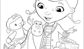 disney doc mcstuffins coloring pages logo coloringstar of