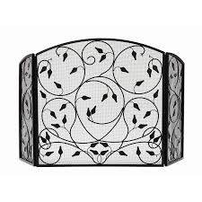fleur de lis fireplace screen dact us