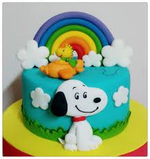mini torta de snoopy birthday cake ideas pinterest snoopy