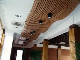 Recessed Lighting For Drop Ceiling by Wooden Suspended Ceiling Panels Curved Decorative Recessed Lights