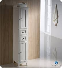 8 inch wide cabinet fresca oxford 14 traditional bathroom tall linen side cabinet