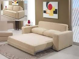 Space Saving Loveseat Living Room Sleeper Sectional Sofa For Small Spaces Interior