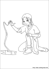 airbender coloring picture