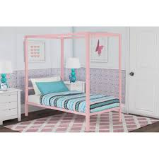 Kmart Canopies by Dhp Modern Metal Canopy Bed Multiple Colors And Sizes Walmart Com