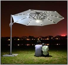 Solar Patio Umbrella Patio Umbrella Light Wireless 3 Lighting Mode Pole 28 Led Light