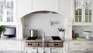 marble subway tile kitchen backsplash marble cooktop backsplash design ideas