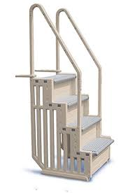 deck mounted pool ladders compare prices at nextag