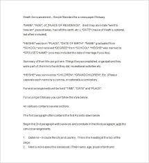 funeral letter template letter idea 2018
