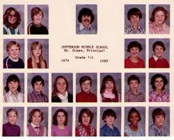 middle school yearbook jefferson middle school alumni yearbooks reunions