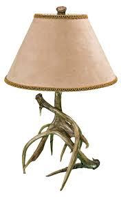 whitetail deer antler table lamp lamp design ideas