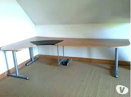 bureau angle blanc bureau d angle ordinateur bureau dangle informatique angle droite