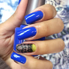 nails design blue beautify themselves with sweet nails
