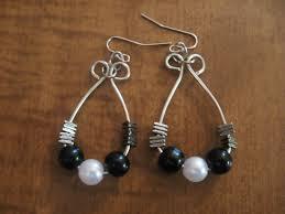 hoop beaded earrings beaded earrings make something mondays