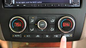 2012 nissan altima automatic climate controls youtube