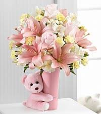 new baby gift baskets send new baby flowers gifts ftd