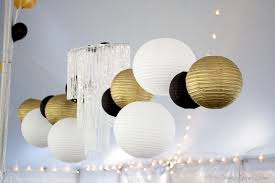 black gold and white wedding decorations real wedding deco