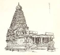 the big temple thanjavur pencil jammers