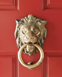 lion door knocker williams sonoma lion door knocker the neo trad