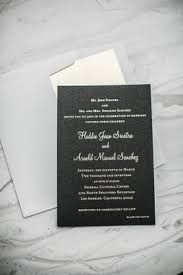 and black wedding invitations black and white wedding with modern mixed metals in los angeles
